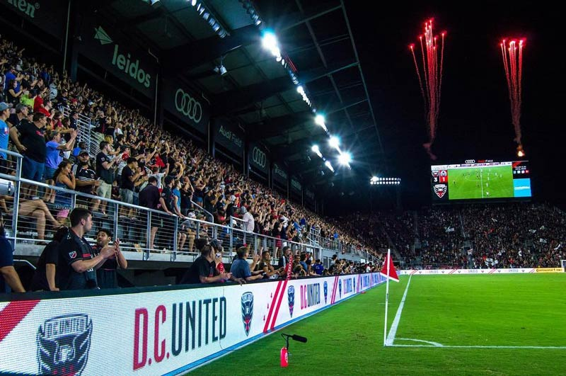 @crvnka - Fireworks at D.C. United's inaugural match at Audi Field - Pro sports in Washington, DC