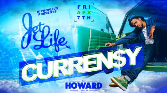 Curren$y at Howard Theatre - Concerts this spring in Washington, DC