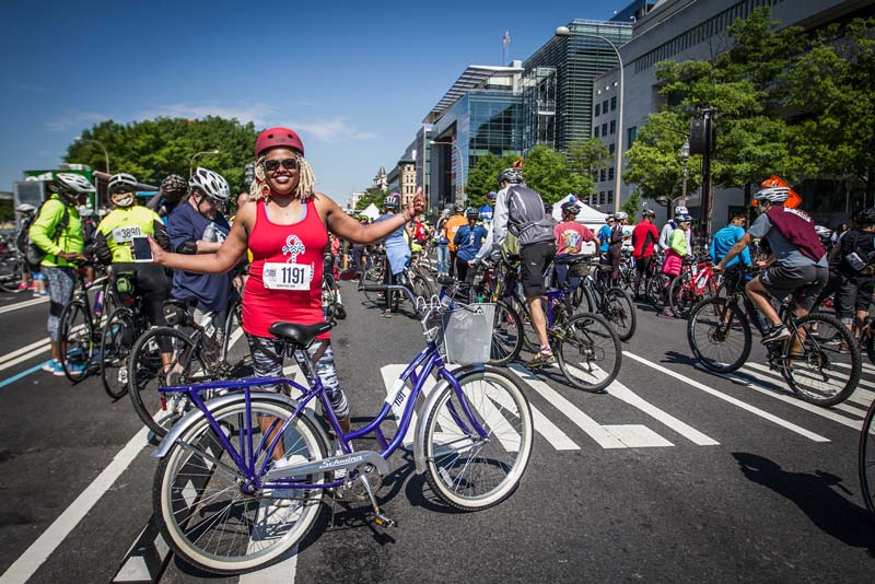 DC Bike Ride - Spring outdoors event in Washington, DC