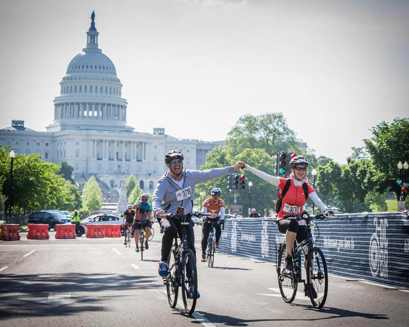 DC Bike Ride - Fun springtime event in Washington, DC