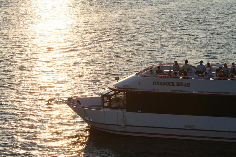DC Cruises sunset boat tour - The best boating activities in Washington, DC