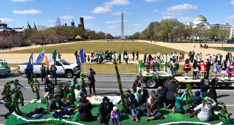 St. Patrick's Day Parade in Washington, DC - Free international event in DC