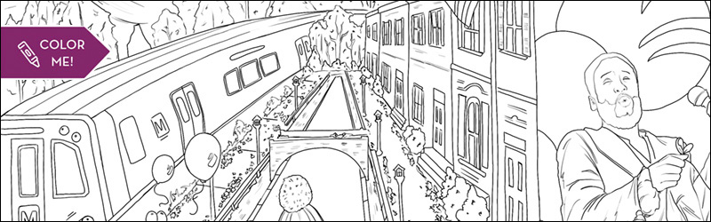 DC Coloring Page