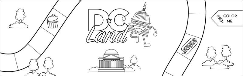 DC Land Activity Game