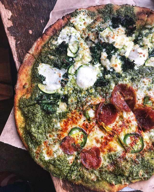 @dceatings - Pizza from Timber Pizza Company in Petworth - Bon Appetit best new restaurant in Washington, DC