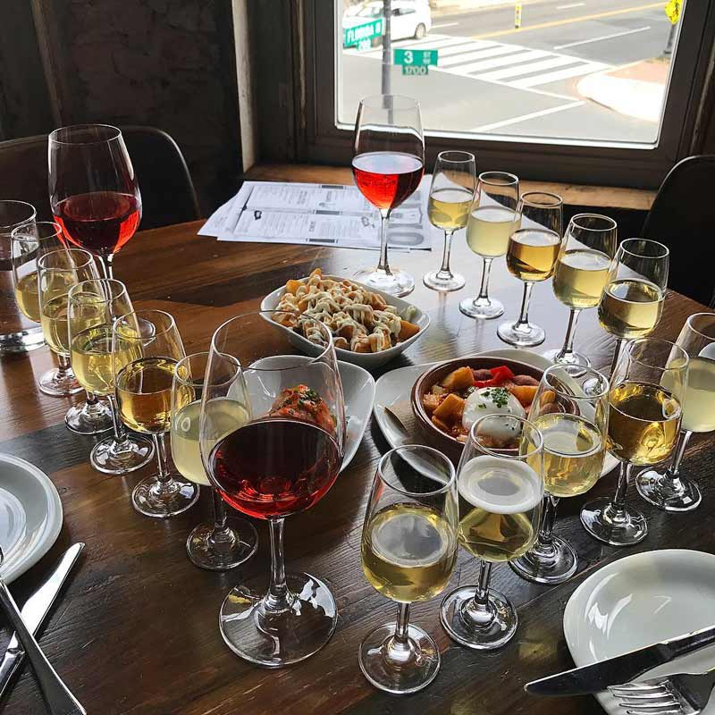 @dc_foodlover - Cidery and pintxos from ANXO cidery in Bloomingdale - Where to eat in Bloomingdale