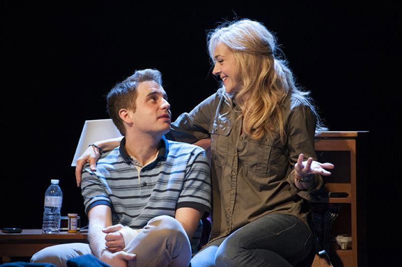 """""""Dear Evan Hansen"""" with actors Ben Platt and Rachel Bay Jones at Arena Stage in Washington, DC"""