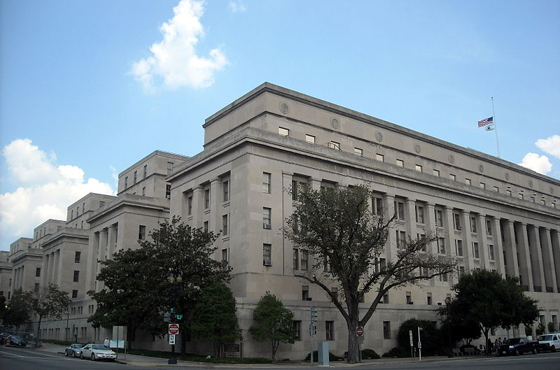 United States Department of the Interior Building in Washington, DC