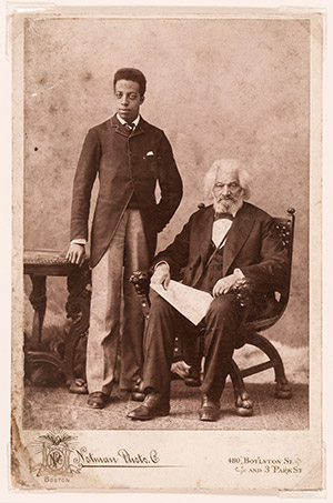 In the Library: Frederick Douglass Family Materials from the Walter O. Evans Collection -  Free exhibit at the National Gallery of Art  in Washington, DC