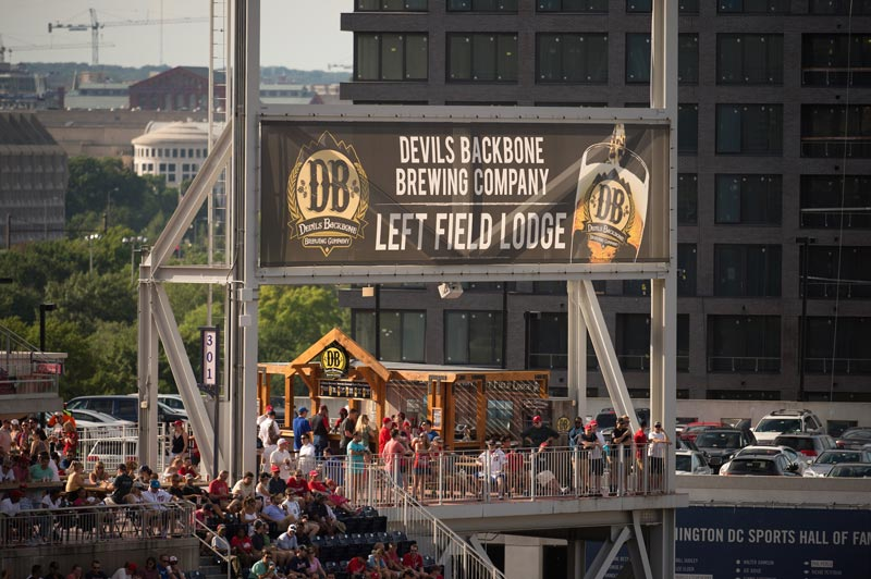 Devil's Backbone Left Field Lounge - Where to drink at Nationals Park in Washington, DC