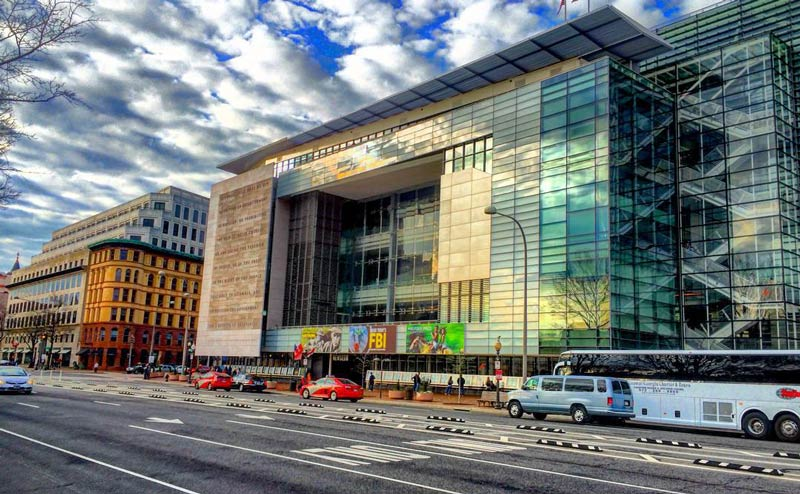 @dgpehrson - The Newseum in Washington, DC - Museums in DC