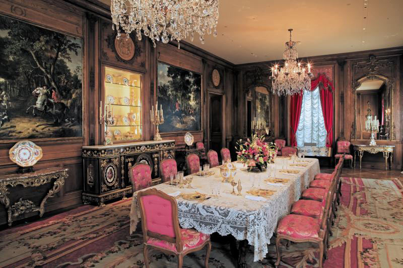 Dining room at the Hillwood Estate, Museum and Gardens - Museum in Washington, DC