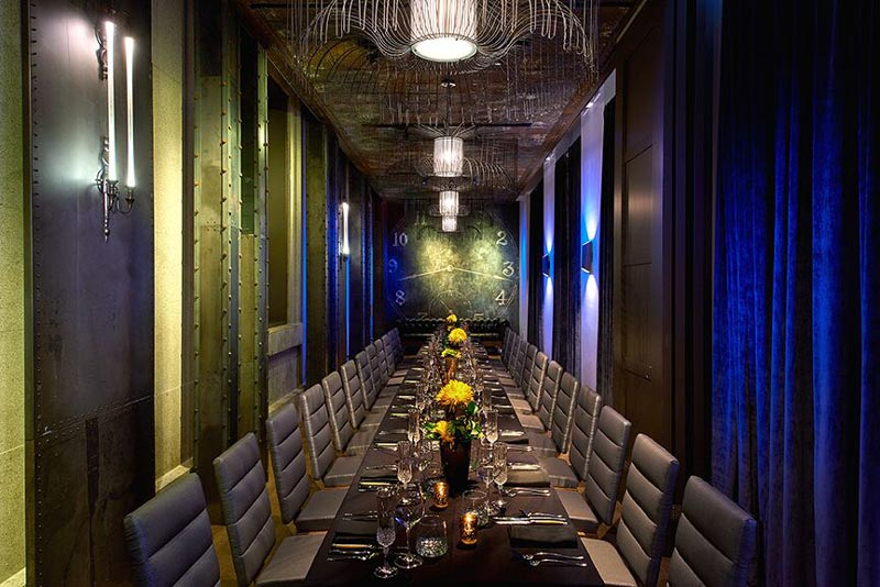 The Clock Room at Dirty Habit - Private reception and dining space in Washington, DC