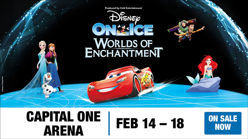 Disney On Ice presents 'Worlds of Enchantment' at Capital One Arena - Things to do this February in Washington, DC