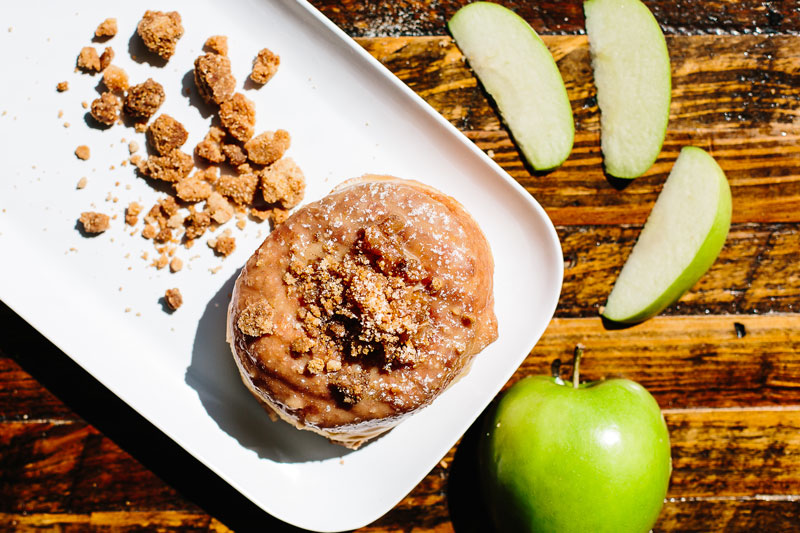 Fall-Flavored Apple Streusel Donut at District Doughnut - Fall Flavors in Washington, DC
