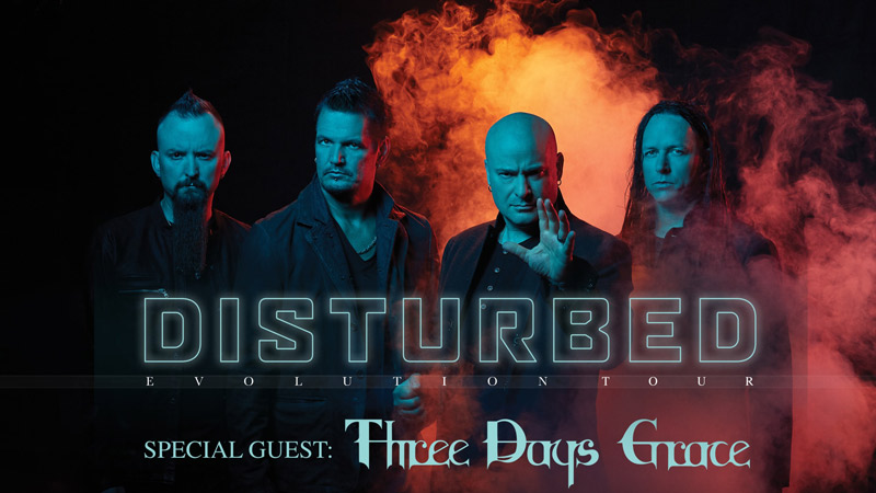 Disturbed concert at Capital One Arena - Winter concerts in Washington, DC