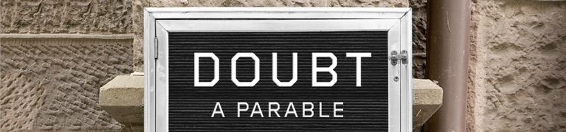 Doubt fall performance at Studio Theatre in Washington, DC's Logan Circle neighborhood