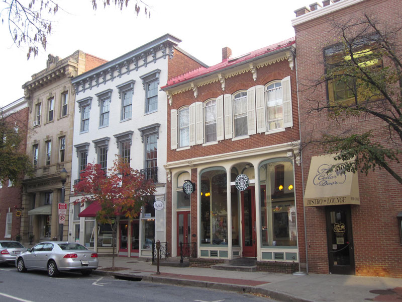 Downtown Frederick, Maryland