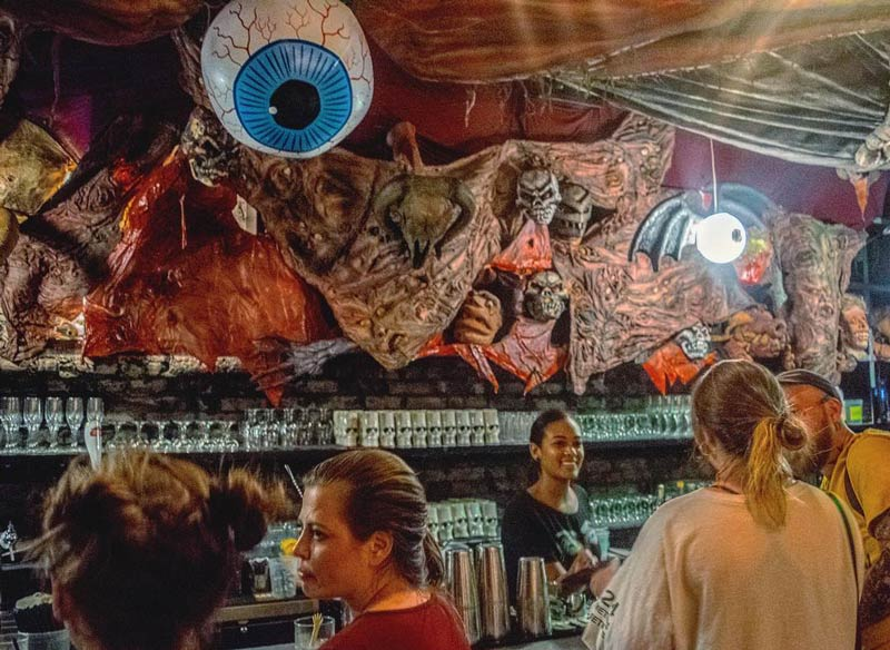 @drinkcompany / Ana Valentin - GWAR Pop-Up Bar in Shaw - Halloween events in and around Washington, DC