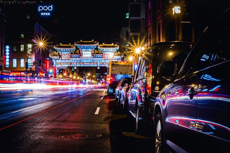 @dstove94 - Nighttime at the Friendship Archway in Chinatown - Best spots to Instagram in Washington, DC