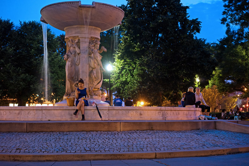 Dupont Circle Fountain - Romantic Spots in Washington, DC