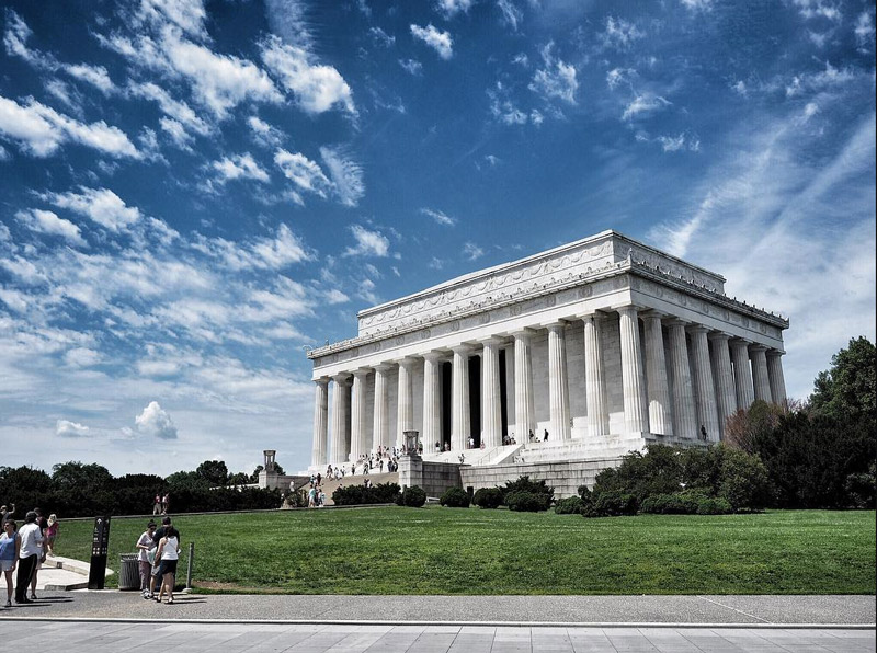 @dwissman - Summer at the Lincoln Memorial on the National Mall - Monuments and memorials in Washington, DC
