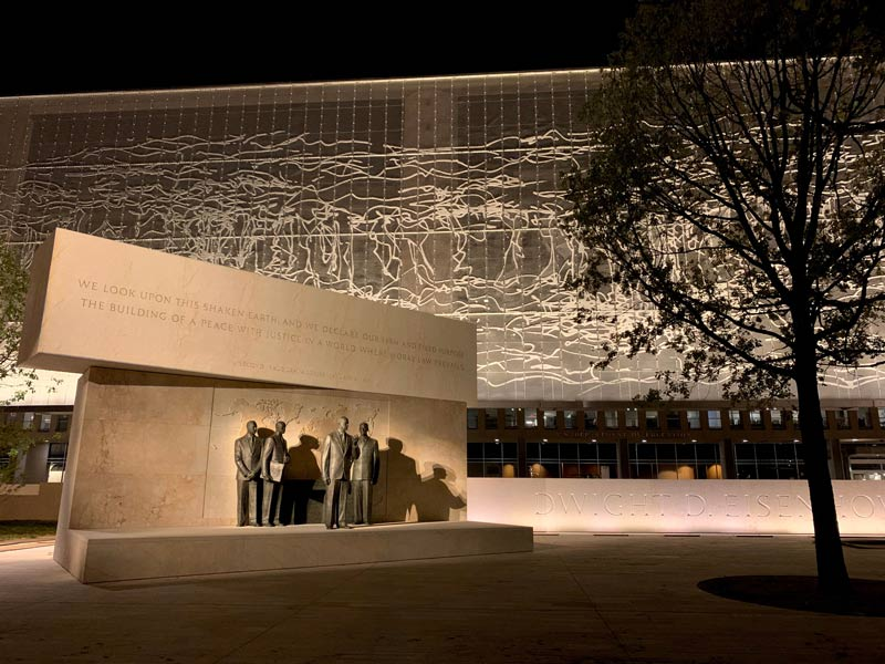 Memorial design by Gehry Partners, LLP; Sculpture by Sergey Eylanbekov; Tapestry by Tomas Osinski