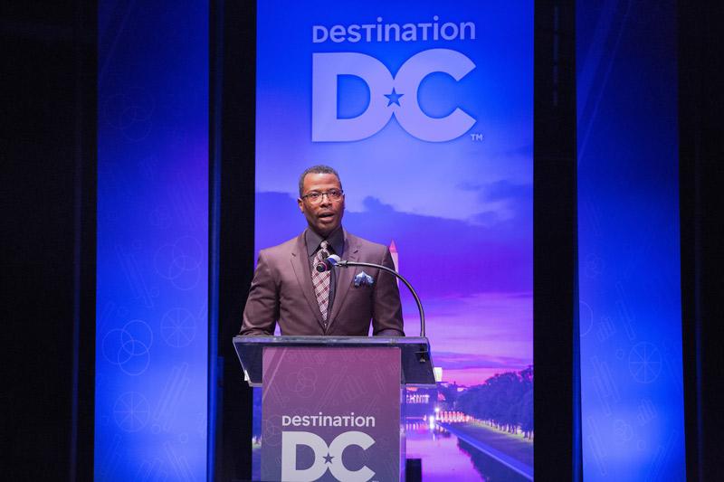 Elliott Ferguson Speaking at Destination DC Marketing Outlook Meeting