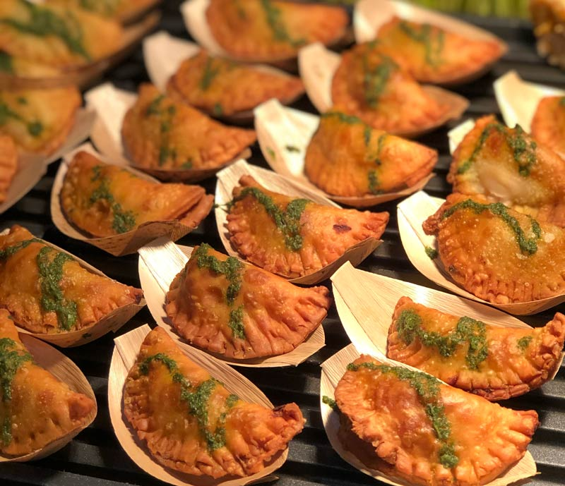 Concessions from DC Empanadas at Nationals Park - Where to eat at Nationals Park during a baseball game