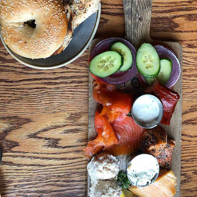 @eulabee.eats - Smoked fish board at Ivy City Smokehouse - The best places to eat in DC's Ivy City neighborhood