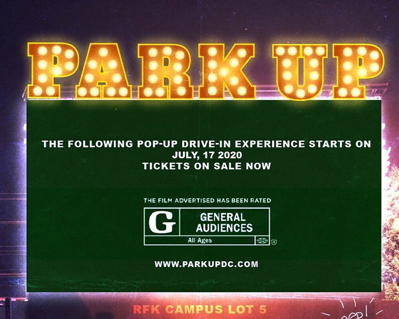 Park Up DC Drive-In Movie