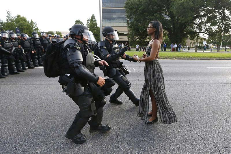 Unrest in Baton Rouge - 'Pictures of the Year: 75 Years of the World's Best Photography' at the Newseum