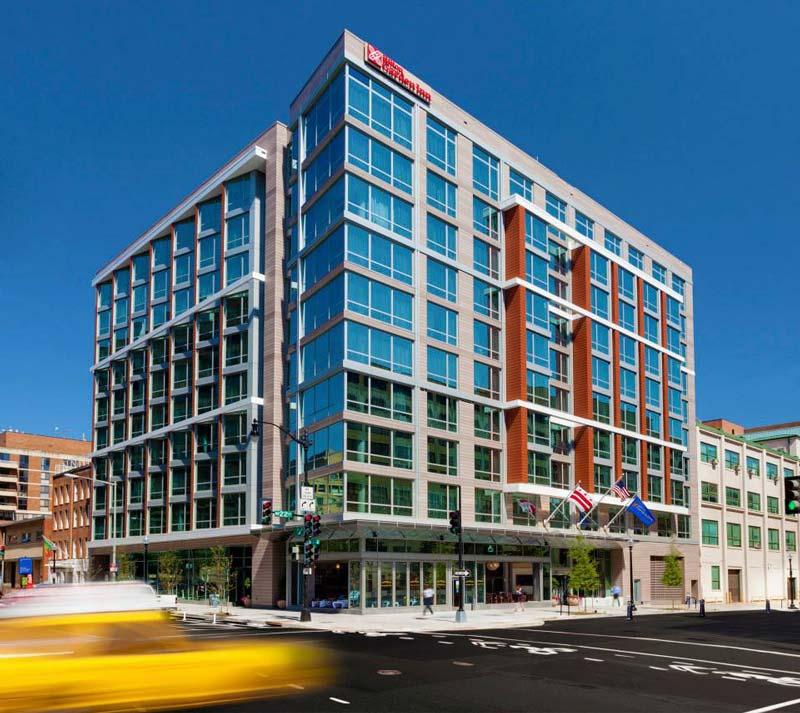 Exterior of the Hilton Garden Inn Washington DC – Georgetown Area - Hotels in Washington, DC