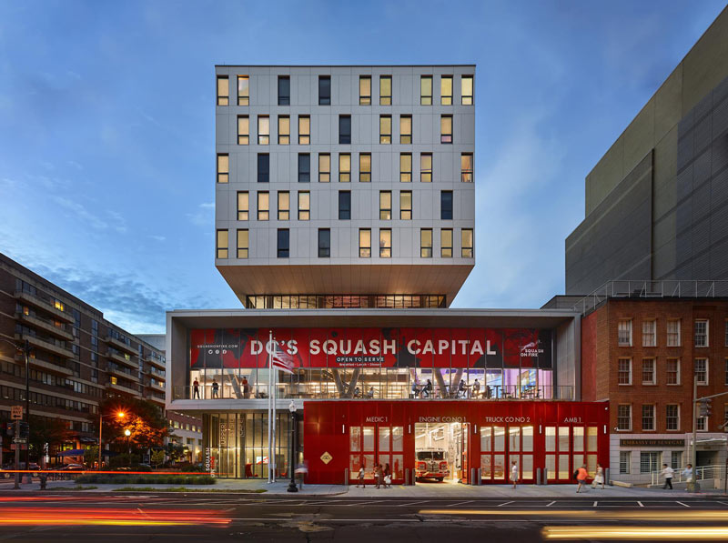 Squash On Fire sports venue in Foggy Bottom - Sports and event venues in Washington, DC