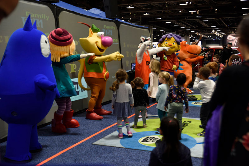 Family Fun Zone at the Washington Auto Show - Events this spring for the whole family in Washington, DC