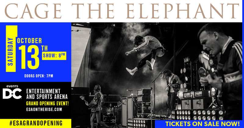 Cage the Elephant at the Washington Entertainment and Sports Arena - Fall concerts in Washington, DC