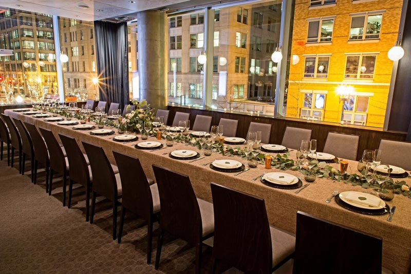 Private dining space at DBGB Kitchen and Bar in CityCenterDC - Group dining in Washington, DC