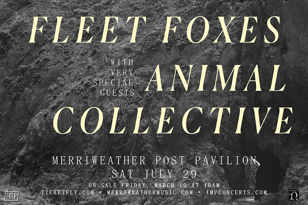 Fleet Foxes & Animal Collective at Merriweather Post Pavilion - Summer Concerts Near Washington, DC