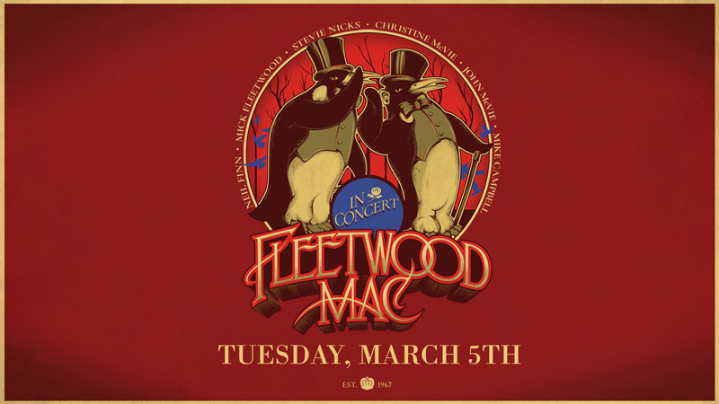 Fleetwood Mac at the Capital One Arena - Concerts this March in Washington, DC