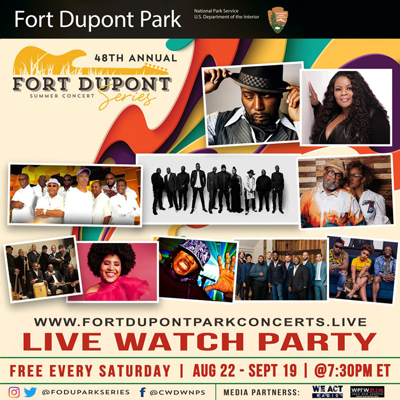 Fort Dupont Summer Concert Series – Virtual Experience