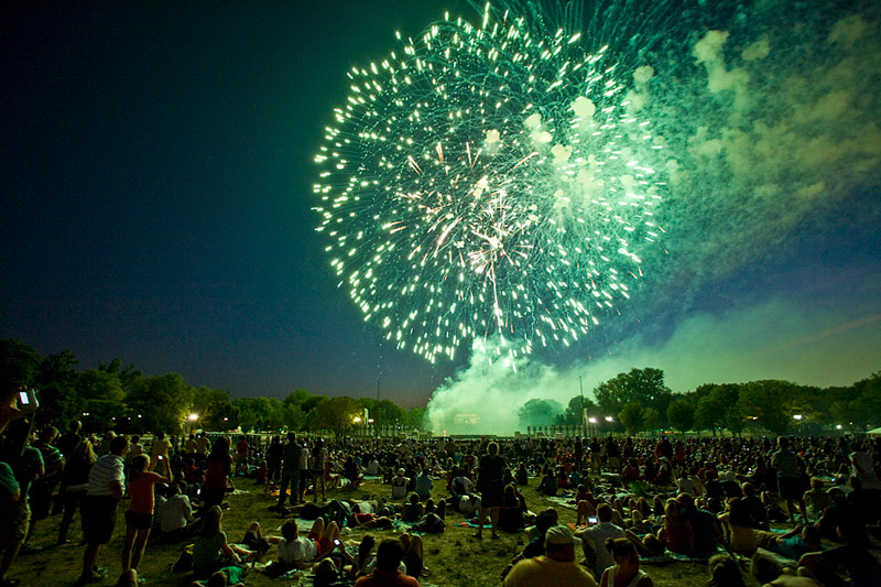 Fourth of July Fireworks on the National Mall - Where to Watch the Independence Day Fireworks in Washington, DC