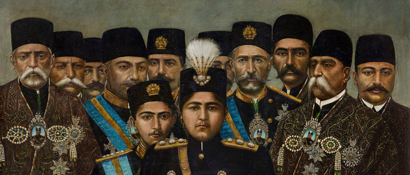 'The Prince and the Shah: Royal Portraits from Qajar Iran' at the Freer|Sackler Gallery - Free museum on the National Mall in Washington, DC