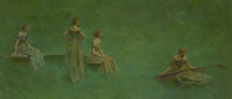 Dewing's Poetic World exhibit at the Freer Sackler Gallery - Free exhibits on the National Mall in Washington, DC