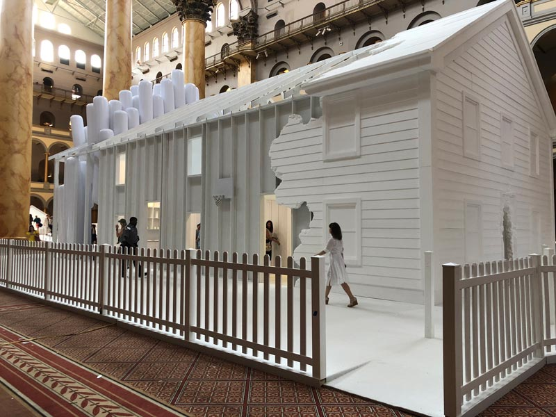 'Fun House' Summer Block Party installation at the National Building Museum - Family-friendly things to do this summer in Washington, DC