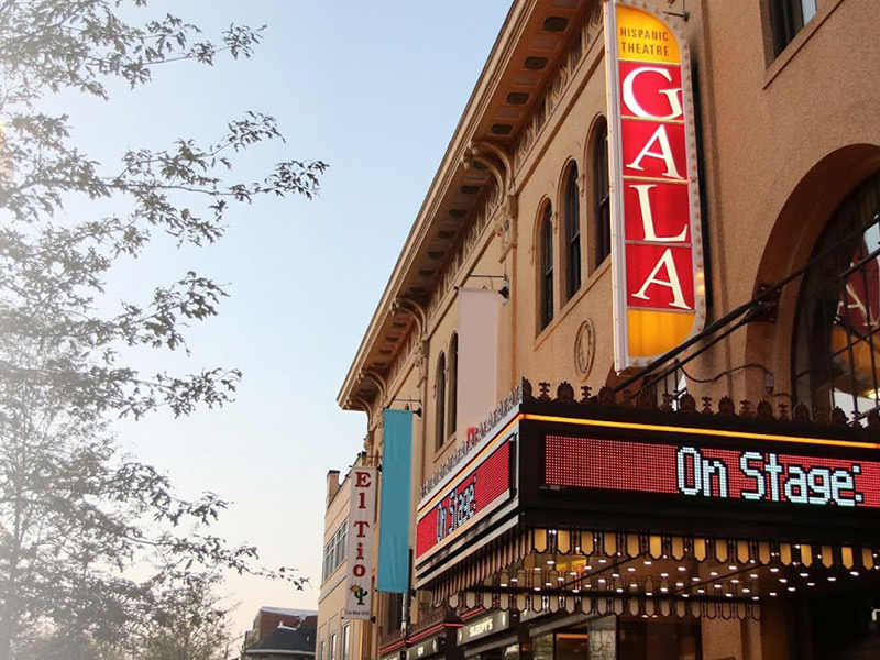 Gala Theatre - Hispanic Performing Arts in Washington, DC