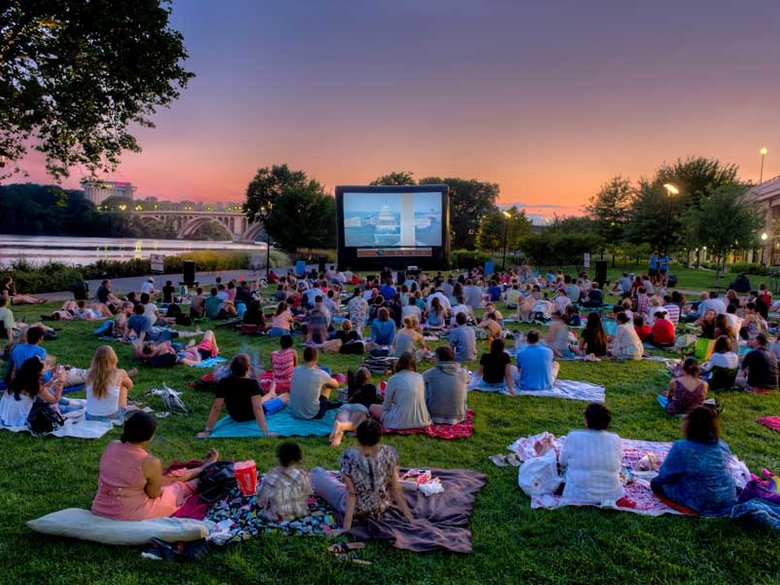 Georgetown Sunset Cinema - Summer Outdoor Movie Series in Washington, DC