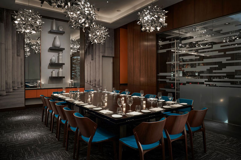 Private dining room at Modena - Group dining at Washington, DC restaurants
