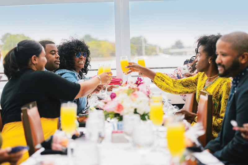 Bottomless mimosa brunch on Entertainment Cruises - Dinner and dining cruises in Washington, DC