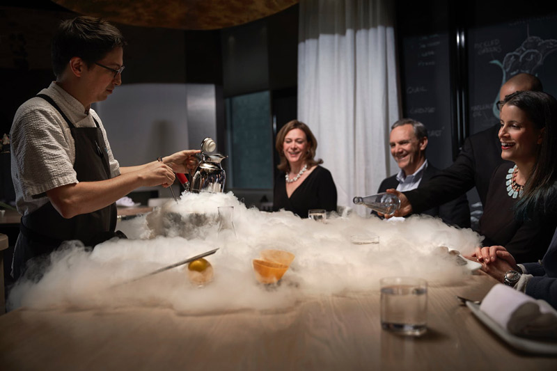 Innovative dining experience at minibar by José Andrés - Private dining spaces in Washington, DC
