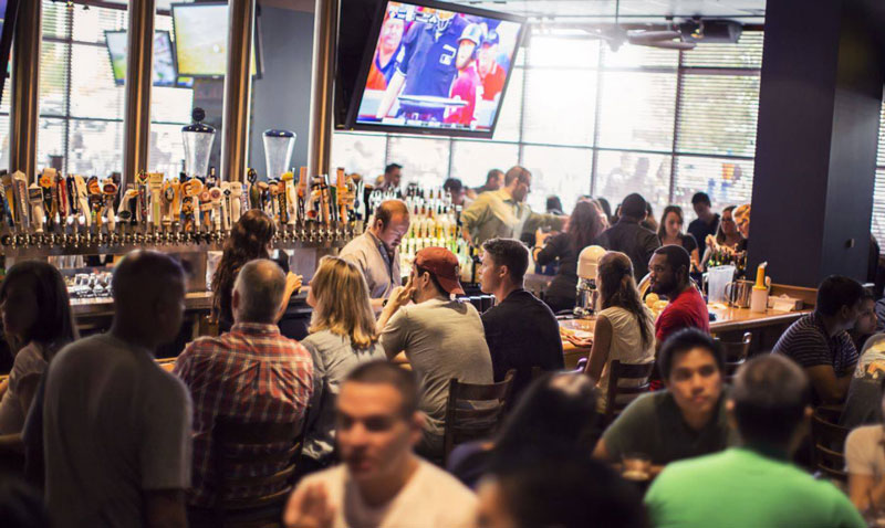 Guests at Blackfinn Ameripub - Best sports  bars and restaurants in Washington, DC